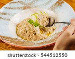 Oatmeal With Apple And Mint In...