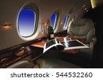 luxury interior in the modern ... | Shutterstock . vector #544532260