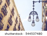 Detail Of Typical Street Lamp...