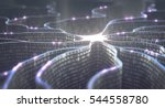 3d illustration. artificial... | Shutterstock . vector #544558780