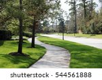 green park walkway   path in... | Shutterstock . vector #544561888