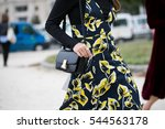 paris september 30  2016.... | Shutterstock . vector #544563178