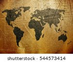 old map | Shutterstock . vector #544573414