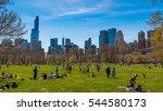 new york  ny   april 16  2016 ... | Shutterstock . vector #544580173