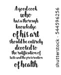 quote food calligraphy style.... | Shutterstock .eps vector #544596256