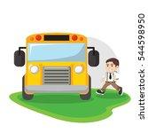 school bus illustration design | Shutterstock .eps vector #544598950
