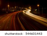 Freeway Leading To Perth City...