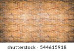brick wall and vintage... | Shutterstock . vector #544615918