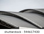 curve metal roof