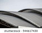 curve metal roof   Shutterstock . vector #544617430