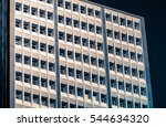 windows of business building  | Shutterstock . vector #544634320