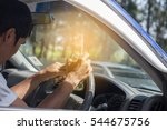 don't drink and drive concept ... | Shutterstock . vector #544675756