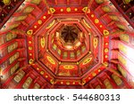 interior of prakaew temple... | Shutterstock . vector #544680313