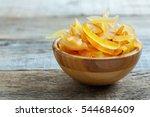 Candied Orange And Lemon Peels...