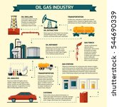oil gas industry infographics... | Shutterstock .eps vector #544690339