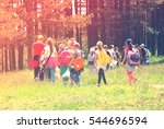 Kids In The Nature Strolling