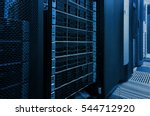 array disk storage in data... | Shutterstock . vector #544712920
