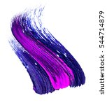 colorful abstract acrylic hand...   Shutterstock . vector #544714879