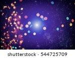 christmas background. elegant... | Shutterstock . vector #544725709