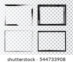 vector frames. rectangles for... | Shutterstock .eps vector #544733908
