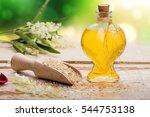 rice oil | Shutterstock . vector #544753138