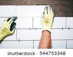 industrial worker hands...   Shutterstock . vector #544753348