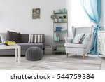 comfortable and adorable living ... | Shutterstock . vector #544759384