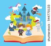 cartoon vector illustration of... | Shutterstock .eps vector #544770133