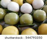 close up of thai desserts ... | Shutterstock . vector #544793350