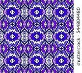 indian pattern. ethnic motif.... | Shutterstock .eps vector #544804480