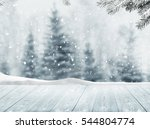 merry cristmas and happy new... | Shutterstock . vector #544804774