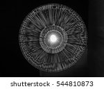 lamp on ceiling background and... | Shutterstock . vector #544810873