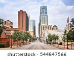 kansas city  missouri   city in ... | Shutterstock . vector #544847566