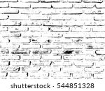 Abstract Brick Wall Background...