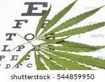 marijuana treatment of... | Shutterstock . vector #544859950
