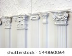 decorative item made of white... | Shutterstock . vector #544860064