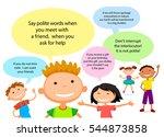vector brochure backgrounds... | Shutterstock .eps vector #544873858