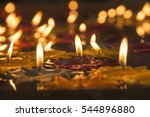 burning candles | Shutterstock . vector #544896880