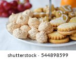 Several Types Of Pastry With...