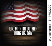 dr. martin luther king jr. day... | Shutterstock .eps vector #544903270