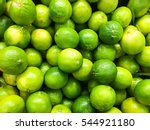 Lime Citrus Fruits In Fruit...