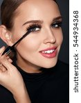 beauty makeup and cosmetics.... | Shutterstock . vector #544934368