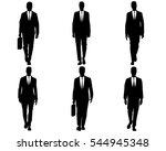 vector illustration of a six...   Shutterstock .eps vector #544945348