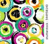 seamless background pattern ... | Shutterstock .eps vector #544958140
