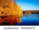 Autumn Season With Fall Foliag...