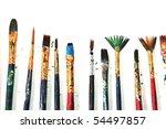 brushes | Shutterstock . vector #54497857