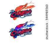 Crayfish Logotype   Vector...