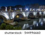 rome. image of the castle of... | Shutterstock . vector #544996660