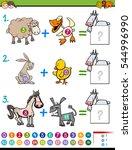 cartoon illustration of... | Shutterstock .eps vector #544996990
