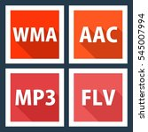 wma  aac  mp3  flv. file format ...